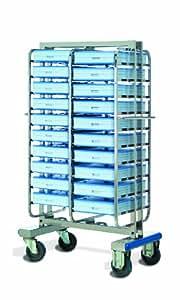Lacor 66931 - Carro portabandejas isotérmicas, 20 unidades