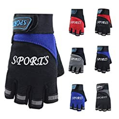Bazahy Cycling Gloves Men Anti Skid Gym ...
