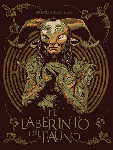 North Shine Pans Labyrinth Spanish Graphic Movie Promotional Art Print Gift Poster for Fan Poster Home Art Wall Posters [No Framed]