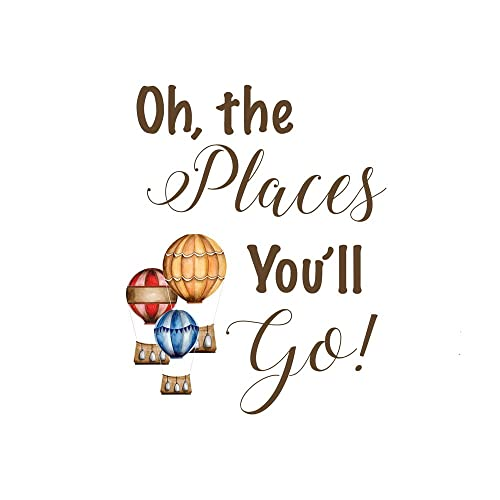 Dr Seuss Oh The Places You Ll Go Quotes Mesmerizing Amazon Oh The Places You'll Go Quote Print Dr Seuss Nursery