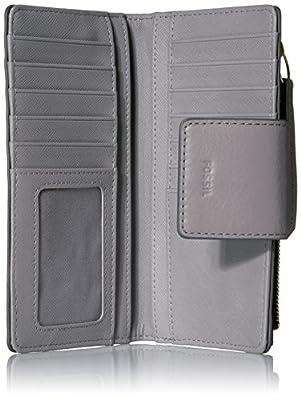 Fossil Emma Rfid Tab Wallet-grey Wallet