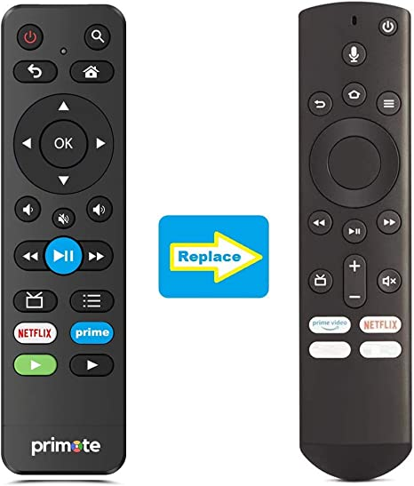 Primote IR Remote Replacement For All Toshiba
