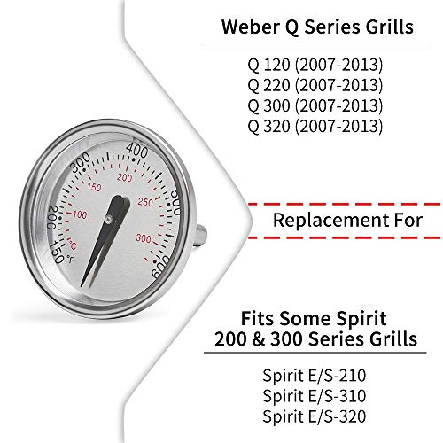 Weber Grill Thermometer Replaces 7581
