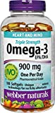 Cheap webber naturals Omega-3 900mg 180 Softgels