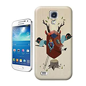 Unique Phone Case Abstract painting-01 Hard Cover for samsung galaxy s4 cases-buythecase