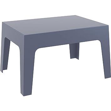 Miliboo - Table basse de jardin design gris fumé LALI: Amazon.fr ...