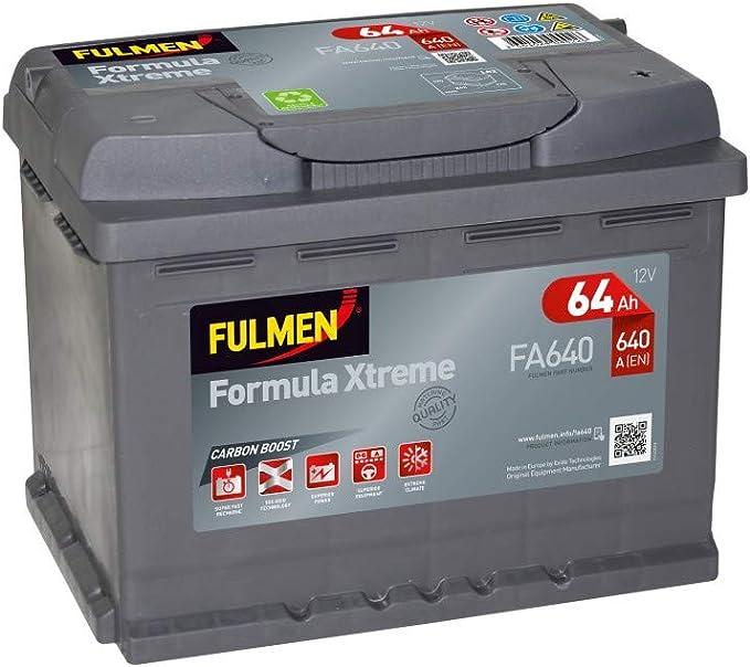 Batterie démarrage FA640 12V 64Ah 640A Batterie Discount
