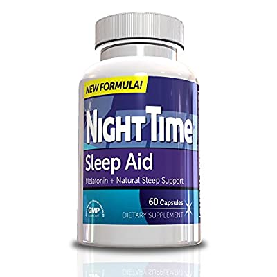 Sleep Aid-NightTime Sleep Aids for Adults, 60 Capsules, 30 Day Supply, Rest and Restore