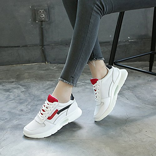 Hollow Summer Sports Joker Shoes Shoes Light Female Net Casual Shoes Mesh gules Breathable KPHY wS1axqw