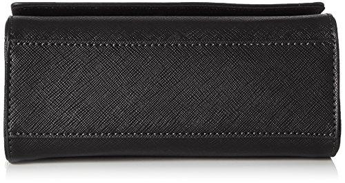 ALDO Damen Astoewiel Umhängetasche, 8x13x18.7 cm Schwarz (Black)