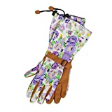 Womanswork 718S Purple, Small, Floral