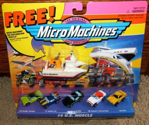 Micro Machines US Muscle #4 - 1971 Convertible Gto Pontiac