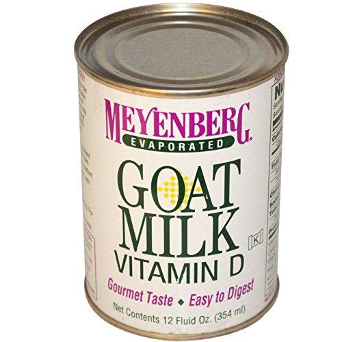 Meyenberg Goat Milk, Evaporated Goat Milk, Vitamin D, 12 fl oz (354 ml) - 2p