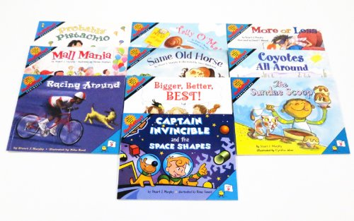 ETA hand2mind MathStart Math-Themed Book Collection (Level 2, Set of 10) (Collections Themed)