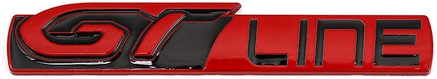 para KIA Forte Optima Picanto Stinger Sorento Qwjdsb para Peugeot GT RCZ 308508 3008 5008 Pegatina de Coche GT Line para Renault Clio
