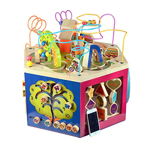 B. Toys Youniversity Activity Cube by B. Toys (Image #1)