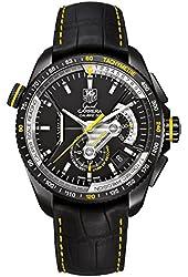 Tag Heuer Grand Carrera Automatic Chronograph Black Titanium Mens Watch CAV5186.FC6304