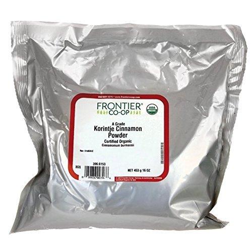 (Frontier Organic Ground Korintje Cinnamon, 1 lb)