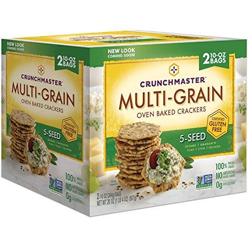 (Crunchmaster 5 Seed Multigrain Cracker (10 oz., 2)
