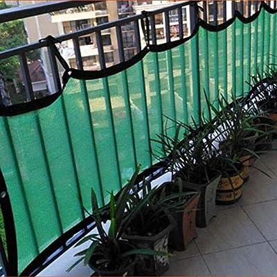 HAIZHEN Cubierta de protección contra Rayos UV de Tela de Tela Verde Sombrilla Red 70% Cubierta de tasa de Sombra para Invernadero/Flores/pérgola/Patio (Tamaño : 3×9m): Amazon.es: Hogar