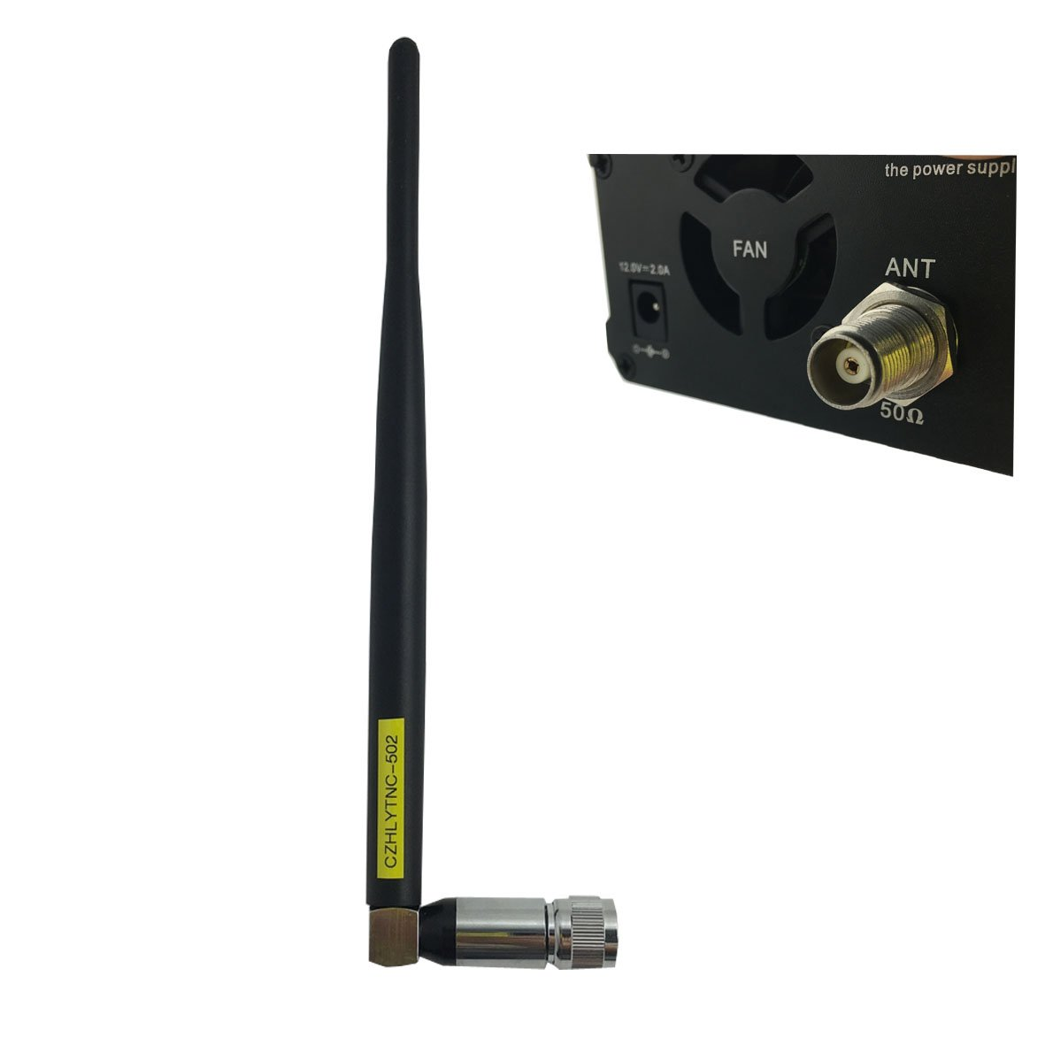 CZH 0.5W CZH-05B/CZE-05B Wireless Long Range Stereo Broadcast FM Transmitter Dual Mode Tnc Antenna Kit by CZH