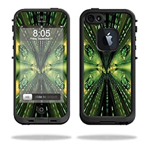 Mightyskins Protective Vinyl Skin Decal Cover for LifeProof iPhone 5 Case 1301 fre wrap sticker skins Matrix