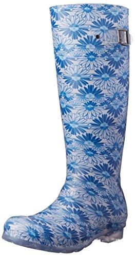 Kamik Mujeres Daisies Rain Bota Blue