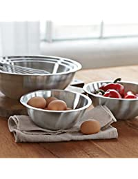 Want Heavy Duty Stainless Steel Mixing Bowls – Set of 6 Different Sizes - by Product Stop online