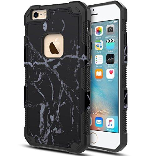 Slim Sleek Shockproof Case for iPhone 6 Plus/6s Plus (Hot Pink) - 7