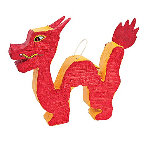 (Fun Express - Dragon Pinata for Chinese New Year - Party Decor - General Decor - Pinatas - Chinese New Year - 1)