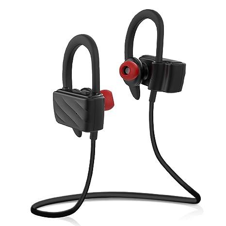 Milool Cuffie Bluetooth 4.0 Confortevoli Sport Headset Auricolari  WirelessCuffie Bluetooth per Ascoltare Musica bfa6b63efe7d