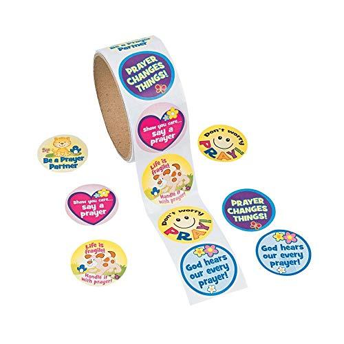 Fun Express Prayer Roll Stickers
