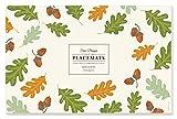 Faux Designs Paper Placemats - Acorns & Leaves