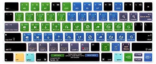 HRH Serato DJ Functional Shortcut Hotkey Keyboard Cover Sili