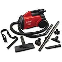Wholesale CASE of 2 - Electrolux Sanitaire Commercial Canister Vacuum-Sanitaire Commercial Vacuum, 7 Hose, 20 Cord, 8 lb., Red