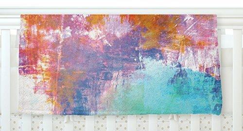 KESS InHouse Ebi Emporium Off The Grid II Multicolor Painting Fleece Baby Blanket 40 x 30 [並行輸入品]   B077ZP82ZX