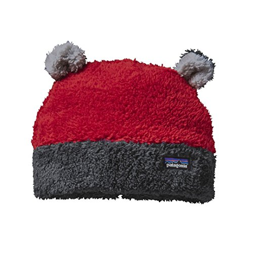Hat Lightweight Patagonia (Patagonia Baby's Furry Friends Hat - Classic Red - 3M)