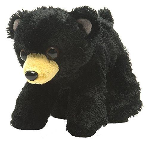 Black Bear Plush Stuffed Animal - Wild Republic Black Bear Plush, Stuffed Animal, Plush Toy, Gifts for Kids, Hug'Ems 7