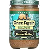 Once Again Organic Smooth Raw Almond Butter, 16 oz