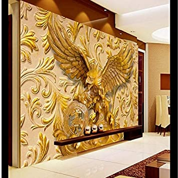Buy Avikalp Exclusive Awz0159 3d Wallpaper Home Decor 3d Living Room Bedroom Relief Eagle Background Mural Hd 3d Wallpaper 8 Ft X 9 Ft Online At Low Prices In India Amazon In