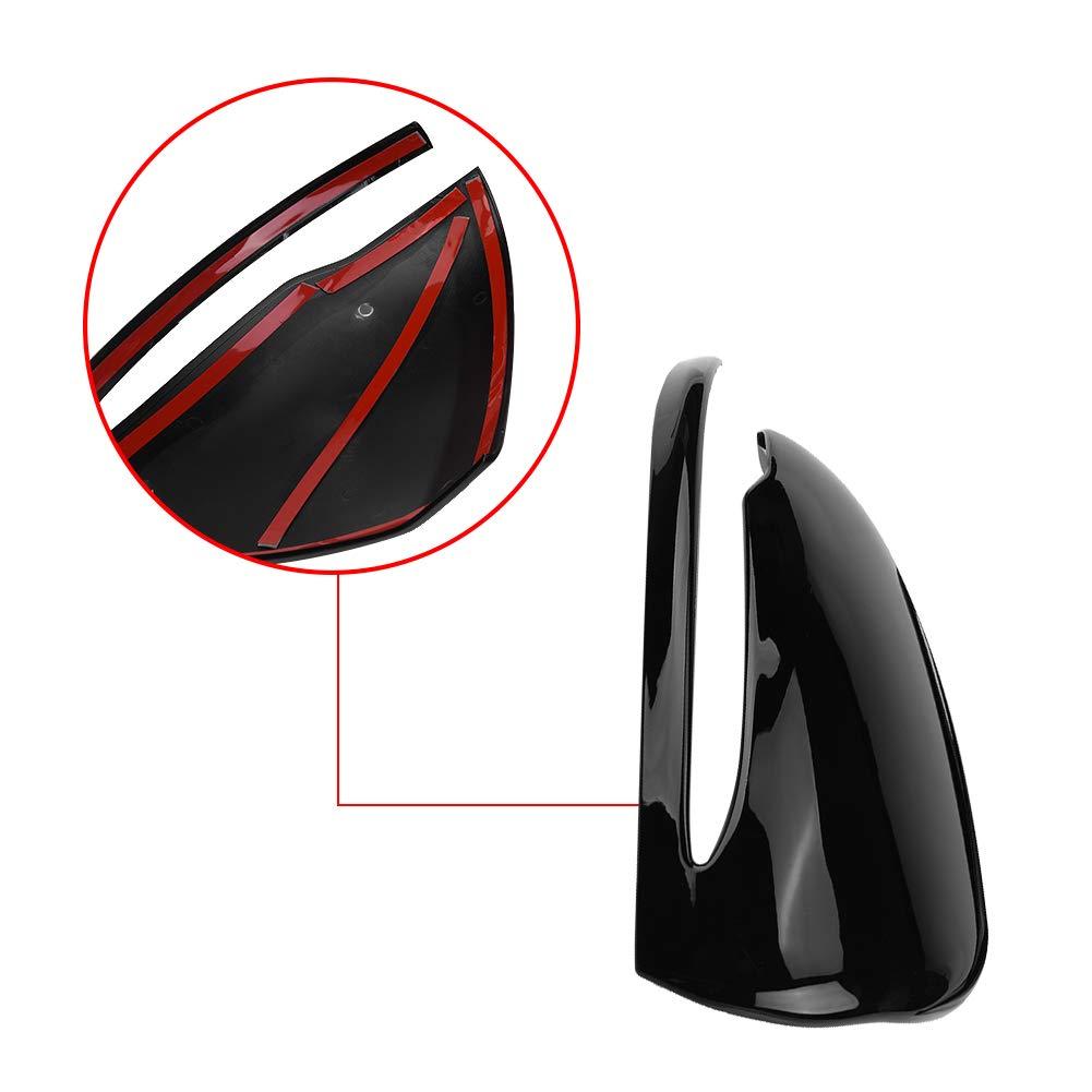 Spiegelkappe Verkleidung Auto R/ückspiegelkappen Verkleidung f/ür C-Klasse W205 E-Klasse W213 GLC-Klasse X253 S-Klasse Piano Black R/ückspiegelkappe