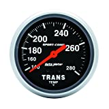 """Auto Meter 3451 2-5/8"""" Mechanical Transmission Temperature Gauge with 8' Tubing"""