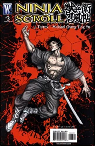 Amazon.com: Ninja Scroll #3 (Jim Lee Variant): J. Torres ...