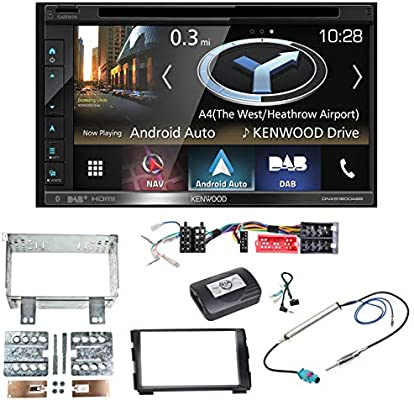 Radio digitale DAB Plus Dischi Antenna Adesiva antenna per Kenwood Radio Auto