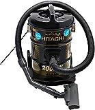 Hitachi CV950Y24CBSBK 18 Liter Corded Canister Vacuum Cleaner Black