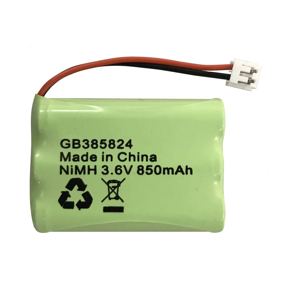 Motorola MBP31 bbebe batería NiMH recargable 3, 6 V 850 mAh GBL
