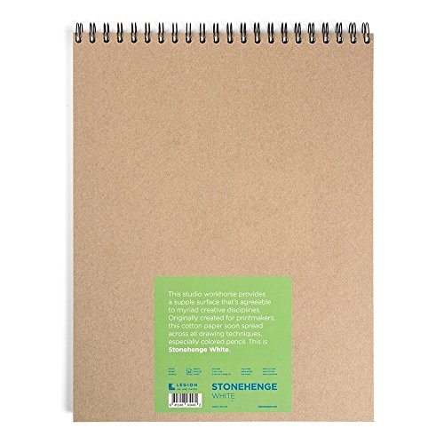Used, Legion Stonehenge Wired Pad, Cotton Deckle Edge Paper, for sale  Delivered anywhere in USA