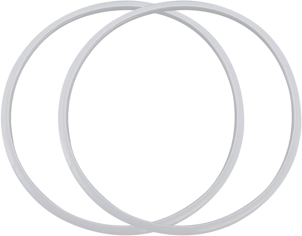 Sydien 2pcs Power Cooker Silicone Sealing Ring for 24cm ID Pressure cooker