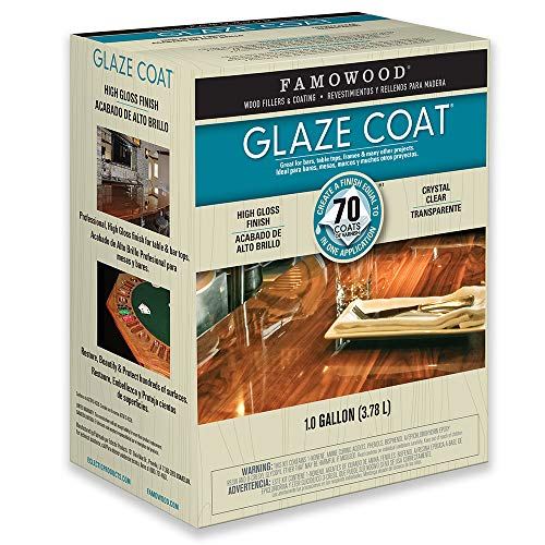 FamoWood 5050110 Glaze Coat Kit - Gallon Clear