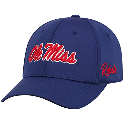 (Top of the World Ole Miss Rebels Phenom Memory Fit 1Fit Hat)